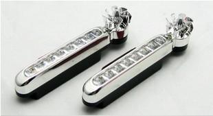 Габаритный фонарь передний габаритный фонарь dosun diamond d80 черный