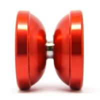 Free shipping Magic Yo Yo T6 Rainbow Red Aluminum Alloy Metal Professional Yo-Yo ball with 2 Strings best choose