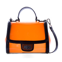 neon orange womens messenger bags,furly candy color handbags 2013 purse women fashion mango bag,cosmetic bag,11292