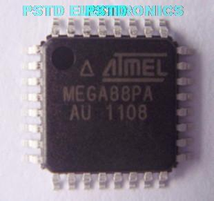 ATMEGA88PA-AU  ATMEL 8-bit Microcontroller with 8K Bytes In-System Programmable Flash