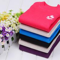 Free shipping  child  cotton sweater basic shirt