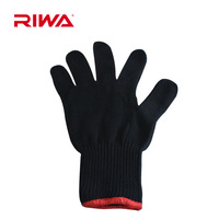Professional riwa rd-384 hair roller hair sticks hair straightener straight clip anti hot glove