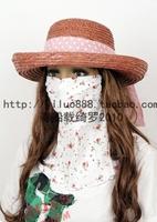Big sun-shading sun hat female sun hat beach cap outdoor strawhat