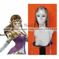 The Legend of Zelda Princess Zelda Brown Cosplay Wig