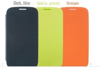 High quality flip leather PU cases  For Samsung Galaxy S3 i9300 2pcs