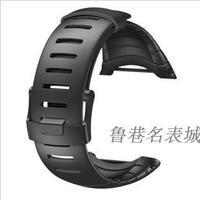 Watchband suunto core black original watchband black metal pieces ss014993000