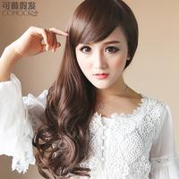 Wig realistic wig scroll fluffy dull big wave schoolgirl egg rolls wig
