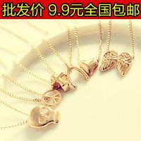 Wholesale 200pcs/ Lot Fashion 4066 2013 wishing necklace chain fashion mischa barton 1.8  Free shipping
