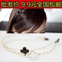 3049 accessories four leaf clover hair accessory hair pin headband hair bands four leaf clover hair bands