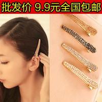 3181 hair accessory hair pin hair accessory brief full rhinestone side-knotted clip hair accessory rhinestone hairpin