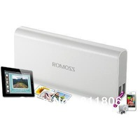 Romoss 10400mAh Portable charger dual USB external battery pack backup power bank