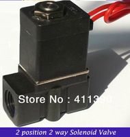 "Plastic micro solenoid valve 2P025-08 1/4"" 2 position 2 way Mini Valve Direct Acting Type Solenoid Valve"