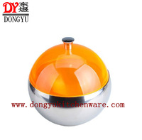 Factory WholesaleDY-B044 Stainless Steel Insulated Ice Bucket ,Ball Shape Style Ice Bucket Export Bucket,Hotel Icebucket Icebowl