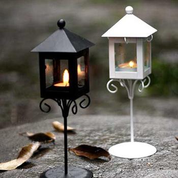 Free Shipping Vintage floor lantern wedding props candle lamp wedding gift decoration fashion tieyi mousse