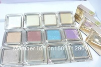3PCS/LOT 2013 New arival Hot sell!high quality Professional eye shadow pigment 10g 12 different colors free shipping