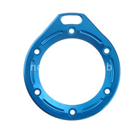 Blue Aluminum LANYARD RING Mount For GoPro Hero 2 Camera