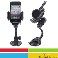 Free Shipping 5pcs Multifunctional! 360 Car Mount Holder Stand for iPhone GPS PDA iPod Mobile