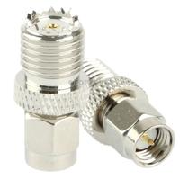 High Quality Coaxial SMA Male to Mini UHF Female Adapter