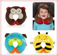 Fashion Cartoon U Pillow Back Cushion Care Pillows Cute Animal Pillow baby plush toy Free shipping