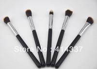 5PC Cosmetics Foundation Blending Brush Blush Kabuki Makeup Tool Set Kit