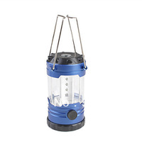 free shipping 12 pcs led portable camping lantern with compass on top can hanging on the tent