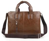 Free shipping real men's bags for men's handbags leather shoulder bag inclined bag, leisure bag document business computer bag