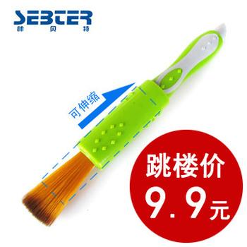 Beite retractable car brush dust brush car cleaning brush dust pen car wash brush wax brush