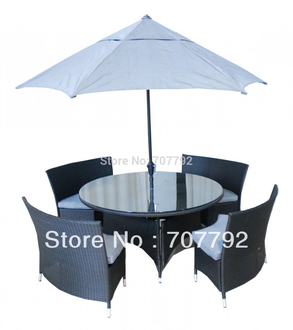 2015!rattan dining Garden Furniture Set(China (Mainland))