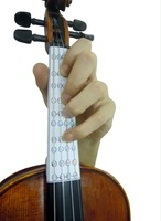 2014 5 X stickers of the fingering position for learn to play the violin 3/4 1/4 1/2 4/4 Size model