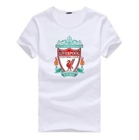 Free shipping Liverpool  big logo soccer shirts accept custom shirts
