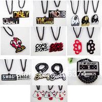 Hiphop Acrylic Necklace Fashion Pendant Hip Hop Necklace ZY071 - ZY062