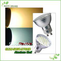 10pcs / Lot GU10 27 SMD 5050 LED Day / Warm White Light Bulbs Led Lights Wholesale Non-dimmable Led Bulb Freeshipping