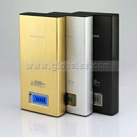 Pineng PN-912, 16800mAh Power Bank With Dual USB Outputs for  Smartphones