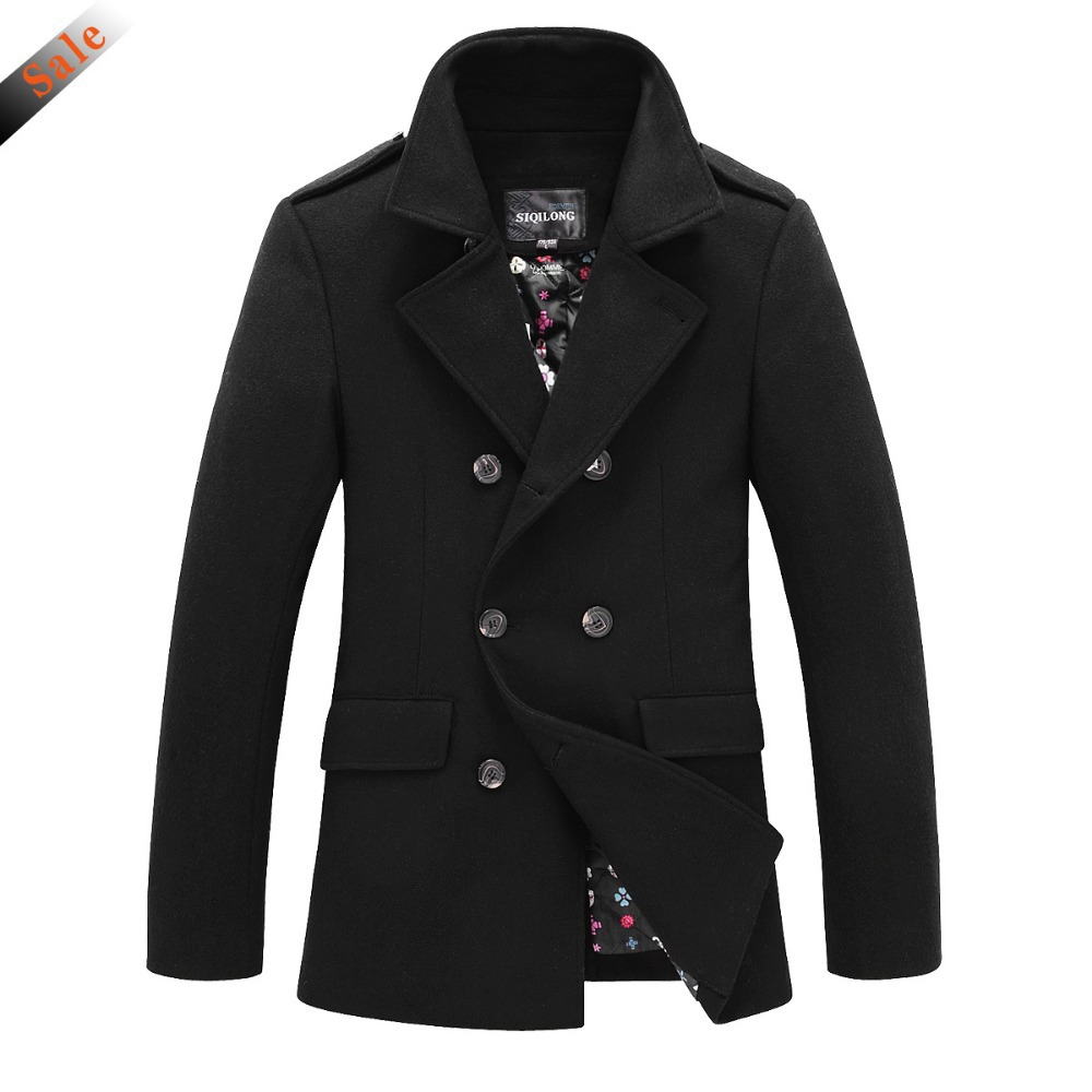 2015 New Arrival Men Jacket Thicken Woolen Winter Jacket For Men ...