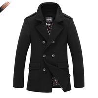 New Men's Winter Jackets Brand Stylish Jackets For Men Coats Mens jackets Pea Coat Outdoors Jacket Military Men Overcoat