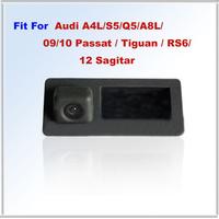 Backup Camera FOR Audi A4L/S5/Q5/A8L/09/10 Passat / Tiguan / RS6/12 Sagitar Waterproof IP67 + Wide Angle 170 Degrees + CCD