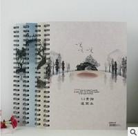 FreeshippingHot wholesale Korean stationery korean school supplies binder sketch Rollover sketchbook Students painting dedicated