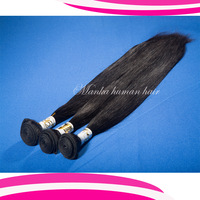 5A grade Unprocessed virgin hair indian hair 3 pcs lot free shipping natural color human hair weave 50g/bundle=1.75oz