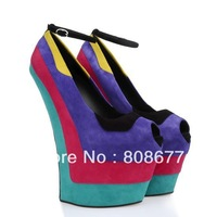 Wholesale And Drop Shipping High Heels Platform Women Vogue 2013 Wedge Sandals, Wedge Women's Shoes