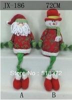 New Interesting Fabric Santa Snowman Indoor Christmas Decoration  Christmas  gifts