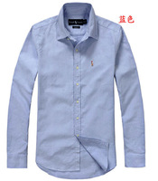 Best quality new arrial men's brand shirt/long sleeve shirts Free shipping!!