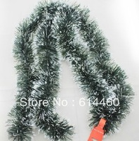 Christmas Garland Green Color Decoration Freeshipment 3PCS/LOT 2M/PC
