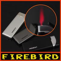 FIREBIRD Ultra Thin  Hot Pink Jet Flame Butane Gas Cigarette Cigar Windproof Lighter