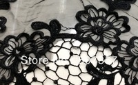 Wholesale new water-soluble openwork embroidery organza lace fabric / lace fabric flower dress positioning A158