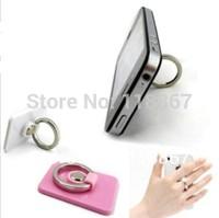 500pcs Bunker Ring Mobile Phone Holder for iPod for iPad phone ring holder for iPhone Adhesive Ring Stand Holder