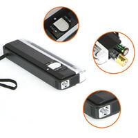 Portable handheld Flashlight money detector back light UV lamp forge money test currency/bank note detector Z0006