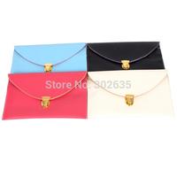 Free shipping 100PCS/Lot Womens Envelope Clutch Chain Purse Lady Handbag Tote Shoulder Hand Bag