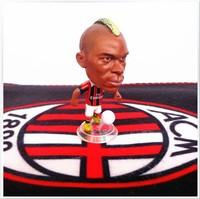 Free Shipping Fans Supplies Football Souvenirs AC Milan Balotelli Football Star Dolls KODOTO Action Figure CC0168