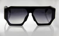 Free shipping Black vicious murder plate sunglasses