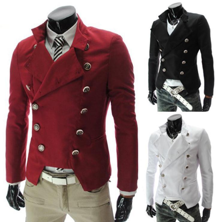 2013 autumn winter sytylish double breasted men suit mens slim fit. Black Bedroom Furniture Sets. Home Design Ideas